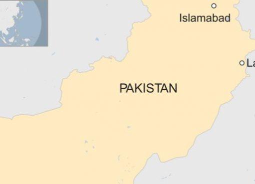 Peta Pakistan. (ilustrasi BBC News)