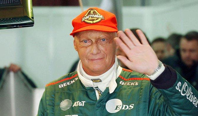 Niki Lauda, diabadikan Januari 2002. (Foto: File AFP/Arab News)