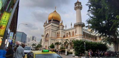 Terletak di jantung Kampung Glam, Masjid Sultan adalah landmark bersejarah di Singapura. (Foto: Arab News)
