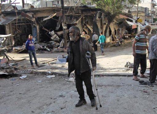 Pasukan Suriah yang didukung sekutunya Rusia telah mengintensifkan serangan bom di Idlib dan provinsi-provinsi tetangga. (Foto: AFP/Al Jazeera)