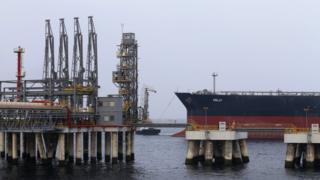 Serangan sabotase yang diduga terjadi di dekat pelabuhan Fujairah di UEA (file foto Gambar Getty/BBC News)