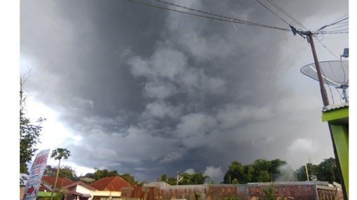 Gunungapi Sinabung. (Foto: theworldnews)
