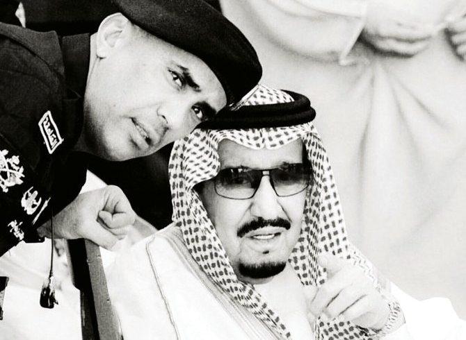 Jenderal Mayjen Abdulaziz Al-Fagham Jenderal Al-Fagham selalu hadir di sisi Raja Salman. Dia dengan sigap membungkuk untuk mengikat tali sepatu Raja, seperti pernah terjadi pada pertemuan puncak di Riyadh. (Foto disediakan/Arab News)