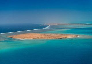 Laut Merah adalah rumah bagi salah satu sistem terumbu penghalang terbesar di dunia. (Foto: Situs web Proyek Laut Merah/Arab News)