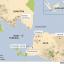 Lokasi Gunung Anak Krakatau. (Ilustrasi BBC News)