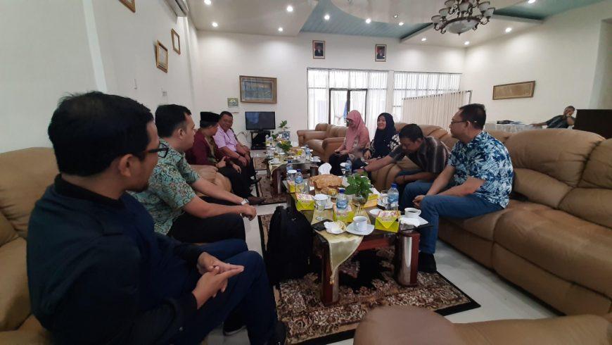 Tim Satgas saat berkoordinasi dengan pihak Kanwil Kemenag Sumut. (Foto: kemenag.go.id)
