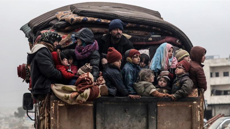Sejumlah 900.000 orang yang melarikan diri dari pertempuran mewakili eksodus warga sipil terbesar sejak Perang Dunia II. (Foto: Reuters/Al Jazeera)