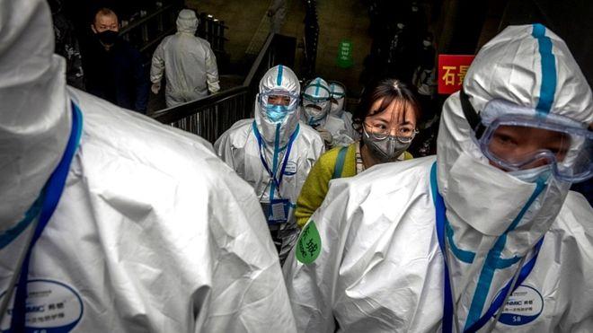 China dalam konndisi virus corona.(Foto: EPA/BBC News)