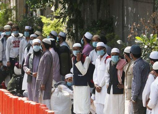 Polisi Delhi secara acak menjemput lebih dari 20 pria Muslim dari utara-timur Delhi pada 1 April karena dugaan hubungan mereka dengan Jamaah Tabligh. (Foto dari media sosial/National Herald)