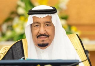 Raja Salman. (Foto: SPA/Arab News)