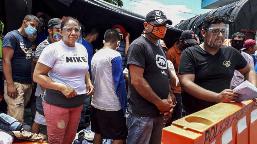 Nikaragua mencegah masuknya ratusan warganya dari Kosta Rika dengan alasan kekhawatiran COVID-19. (Foto AFP/Al Jazeera)