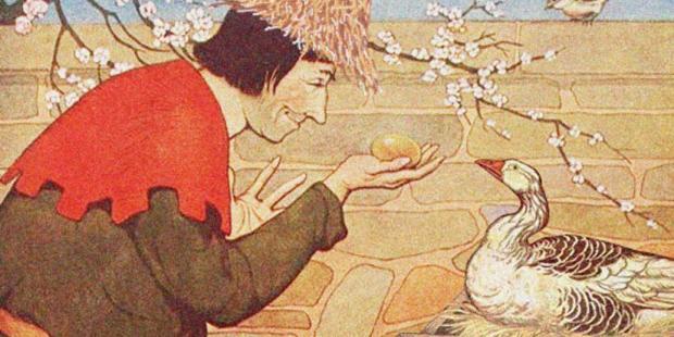Angsa dan Telur Emas