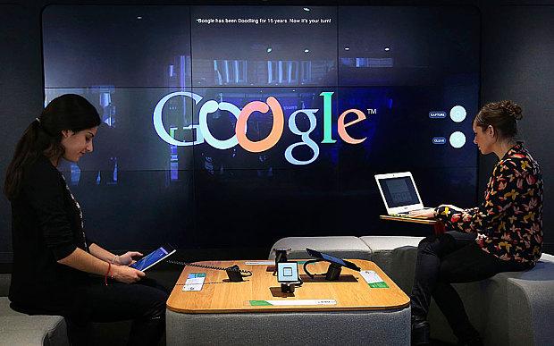 Suasana Toko Google