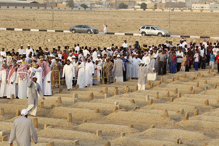 Pemakaman Baqi di Madinah, Arab Saudi