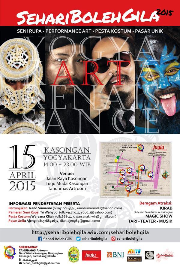 Sehari Boleh Gila di Yogyakarta