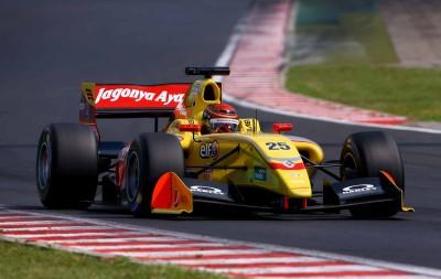 Sean Gelael in action di Jerez. (seangp.com)