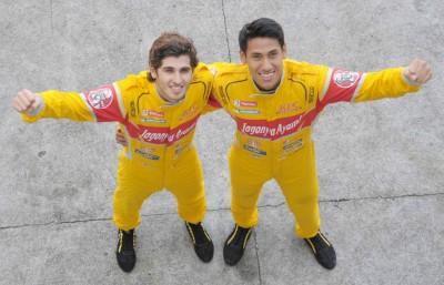 Sean Gelael dan Antonio Giovinazzi.