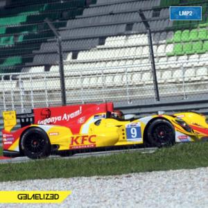 LMP2 yang akan dinaiki Sean Gelael dalam ajang laga Le Mans Asia di Thailand dan Malaysia, Januari 2016.