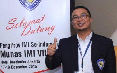 Ketua PP IMI Sadikin Aksa.