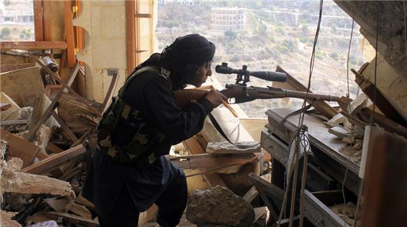 Pembeerontak/pejuang Suriah yang melawan pemerintah Suriah. (Al Jazeera)