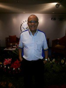 Helmy Sungkat berbicara dalam workshop IMI di Jakarta, Selasa.  (arl)
