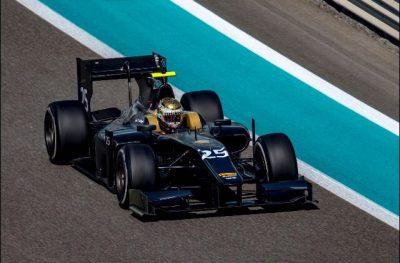 Sean Gelael test bersama tim Arden yang akan membelanya pada laga GP2 2017 mendatang.  (seangp)