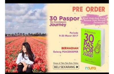 Mau order buku 30 Pasport: The Peacekeeper's Journ?  (ist)