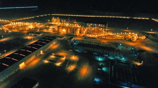 Al-Duwaihi, tambang emas terbesar di Kerajaan, adalah tambang terbaru yang dimiliki dan dikelola Saudi Arabian Mining Co. (Maaden). (Foto: Arab News)