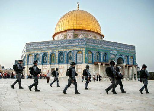 Masjid Al-Aqsa. (Foto AFP/Arab News)