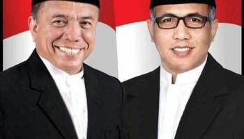 Pasangan Gubernur dan Wakil Gubernur Aceh terpilih Irwandi Yusuf dan Nova Iriansyah. (Foto: lintas nasional.com)