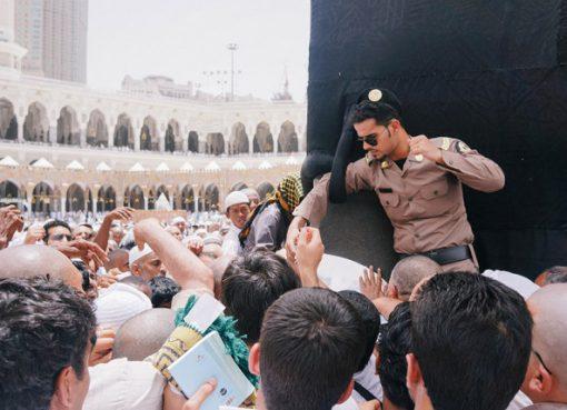 Jamaah haji di seputar hajar aswad. (Foto: Dokumentasi)