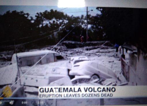 Gunung Api Fuego, di Guatemala. (Foto: All Jazeera)