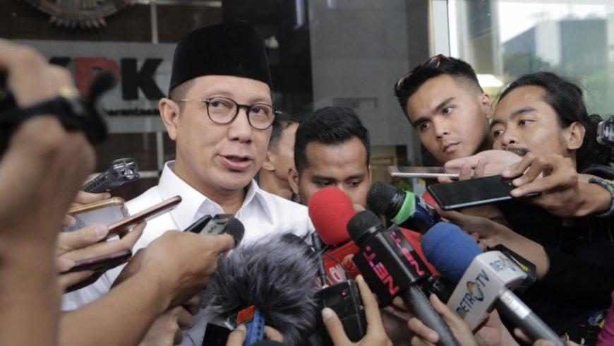 Menag Lukman Hakim Saifuddin memberikan keterangan dalam ssuatu kesempatan. (Foto: Dokumentasi https://kemenag.go.id)