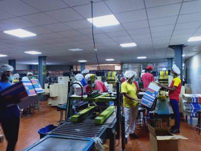 Pabrik Indomie di Ethiopia.