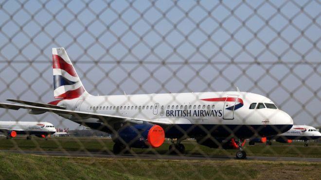 """British Airways diharapkan mengumumkan akan """"menangguhkan"""" pekerjaaan sekitar 36.000 staf. (Foto: Gambar Getty/BBC News)"""