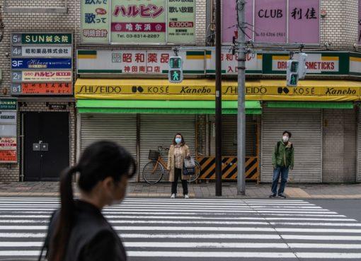 Jepang mulai mengalami penurunan infeksi COVID-19 setelah beberapa minggu di bawah keadaan darurat, mengurangi kontak orang-ke-orang. (Foto: Getty Images/Al Jazeera)