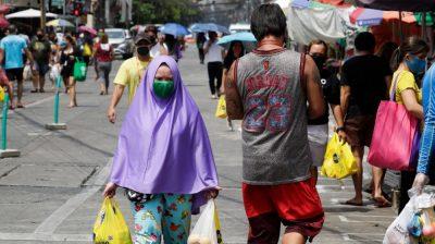 Penguncian di Manila telah diperpanjang hingga 15 Mei yang berdampak pada lebih dari 12 juta orang Foto: AP/Al Jazeera)