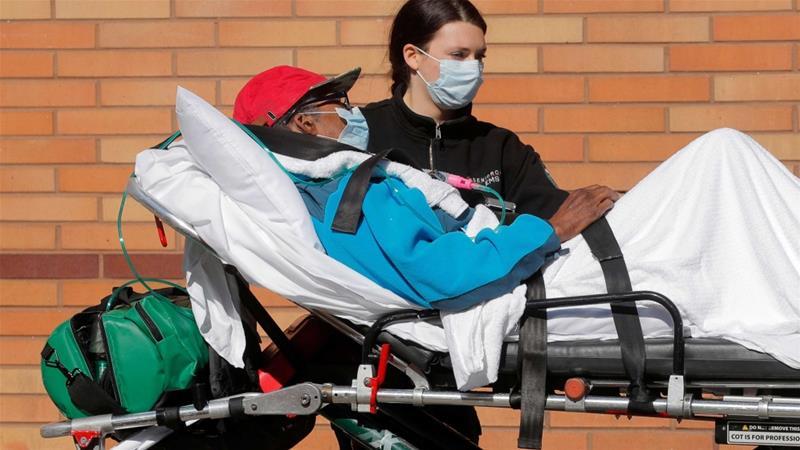 COVID-19, kasus global lebih dari 1 juta korban terinfesi dengan lebih dari 80.000 kematian terus menghantui dunia. (Foto: Reuters/Al Jazeera)