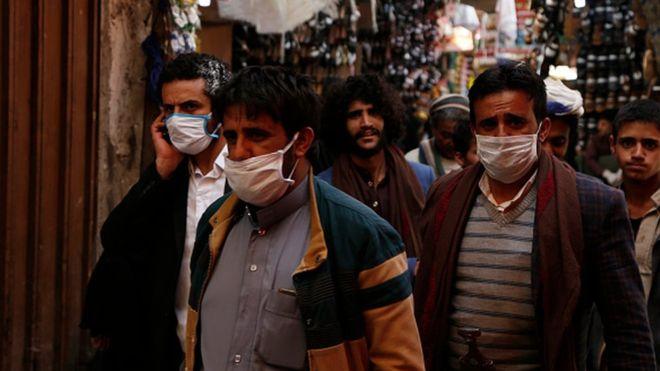 Keterangan gambar Para ahli memperingatkan bahwa infeksi sebenarnya mungkin lebih tinggi, karena tingkat pengujian yang rendah di banyak negara.(Foto: Hak cipta Getty Images/BBC News)