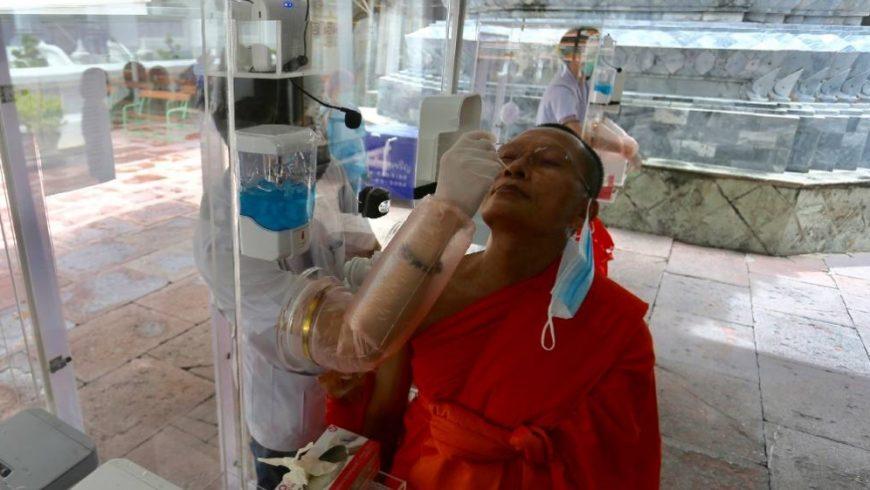 Thailand memiliki 3.081 jumlah total infeksi dengan 57 kematian sejak Januari. (Foto: AP/Al Jazeera)