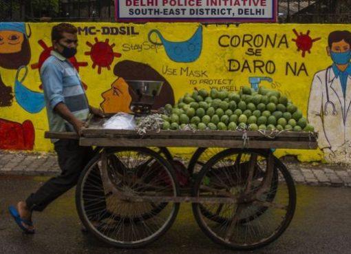 India saat ini memiliki jumlah kasus virus corona tertinggi ketiga di dunia. (Foto: Getty Images/BBC News)