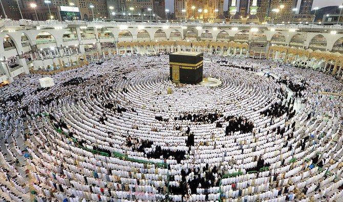 Masjidil Haram saat penuh sesak. (Foto File SPA)