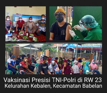 BPBD Provinsi Jabar Akan Gelar Vaksinasi Masal di Kabupaten Bekasi